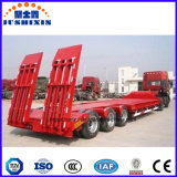De 50 tonnes de Tri-Essieu de bâti remorque inférieure extensible de camion semi