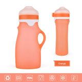 Frasco de alimentação do bebê do silicone do produto comestível de quatro cores que faz a máquina
