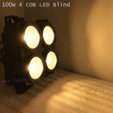 4*100W wärmen Farbe PFEILER Matrix-Licht