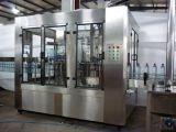 Выпивая завод минеральной вода разливая по бутылкам с высоким качеством