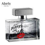 Anunciou o frasco de perfume de vidro oval do perfume do desenhador para o árabe