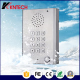 Telefone áspero Knzd-29 do aço inoxidável do atendimento Hands-Free