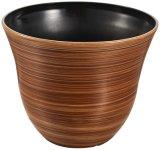 真珠のような光沢の表面の植木鉢(KD9142K)