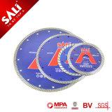Sali de alta calidad de la marca del segmento de 4 pulgadas de hoja de sierra de diamante Turbo