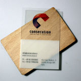 Variable klassische EV1 1K NFC transparente Visitenkarte der Daten-MIFARE
