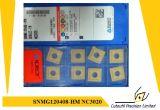 KorloyのSnmg120408Hm  Nc3020 製粉のツールの炭化物の挿入のための製粉の挿入