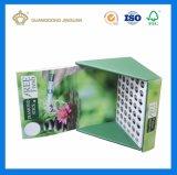 Boîte d'affichage de papier ondulé personnalisé (flûte Affichage boîte de papier)