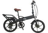 """セリウム20の""""高い発電の隠されたリチウム電池が付いている都市高い発電のFoldable電気自転車"""