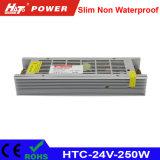 24V 10A 250W de Levering van de Macht van de LEIDENE Omschakeling van de Transformator AC/DC HTC