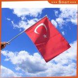 スポーツ・イベントのためのトルコのカスタム示す手持ち型のフラグ
