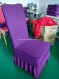 Пурпуровая романтичная крышка стула венчания (JY-E10)