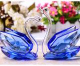 De goedkope Zwaan van het Kristal van de Beeldjes van de Zwanen van het Glas van de Gift van de Gunsten van het Huwelijk Duidelijke voor Dame Gift