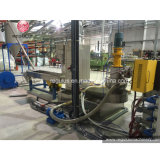 Rebut de PP/PE pelletisant réutilisant la machine