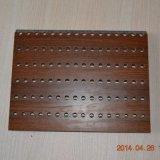 Perfuração de madeira sem ranhuras do painel de MGO acústico