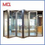 Portelli di piegatura insonorizzati del piccolo patio interno di alluminio economico