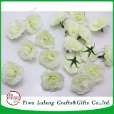Etapa de la boda como telón de fondo decoración Flores artificiales Rose jefe