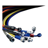 Il Teflon eccellente di qualità PTFE muggisce il tubo flessibile di rinforzo del filo di acciaio del tubo flessibile