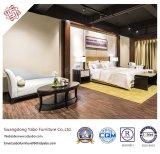 居間のソファー(YB-WS-57)が付いている顧客用現代ホテルの家具
