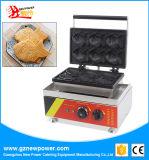 Wafel die van de Vissen van Ce de Commerciële Elektrische de Machine van de Wafel van Taiyaki van de Maker maken