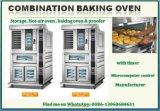 Hornear comercial de la fermentación de acero inoxidable con horno de pizza