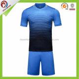 Le football mince Jersey d'ajustement de qualité conçoivent le football sec Jersey de générateur de chemise du football d'uniformes du football de T-shirt d'ajustement de sport