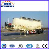 Semi-Trailer do petroleiro do cimento do volume da baixa densidade de 3 eixos