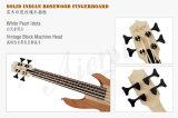 Aiersi полностью твердого Ukulele Mahogany/твердой золы электрический басовый для оптовой продажи