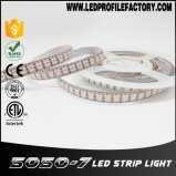 Fita do diodo emissor de luz, luz de tira de alumínio do diodo emissor de luz do perfil, tira do diodo emissor de luz de 5050 SMD