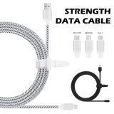 2.4A rápido de 1,5 m el cable USB y cable de sincronización de datos para el tipo-C