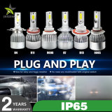 Wholesale Super Bright 9004 9005 9007 H4 C6 LED Headlight Bulb