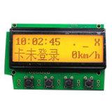 12864 رسم بيانيّ نقطة [لكد] وحدة نمطيّة, أصفر/أخضر [لكد] [ديسبلي سكرين] لأنّ [أردوينو]