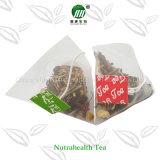 Etiqueta privada de 14 Días de desintoxicación de la pirámide de la bolsa de té té //Papel Fliter bolsa de té