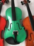 Beste Musikinstrument-Violinen-Fabrik-Farben-Violine für Verkauf