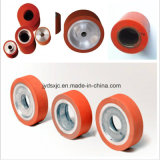 Rueda del caucho del traspaso térmico del rodillo del caucho de silicón de la precisión