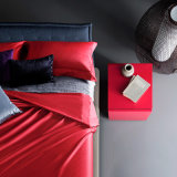 Quarto Deluxe 100% algodão personalizados roupa vermelha