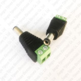 connettore maschio dell'adattatore di spina del Jack di corrente continua Di 5.5X 2.1mm per la macchina fotografica del CCTV