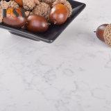 Pietra artificiale di superficie gentile bianca del quarzo di Carrara