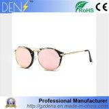 Venda por grosso de Espelho polarizado óculos de sol óculos de metal redonda