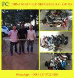 Sapatas usadas para sapatas usadas esportes da venda para o mercado de África