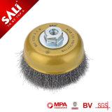 Sali Golden à usage intensif de haute qualité de la brosse de la Coupe du fil sertis.