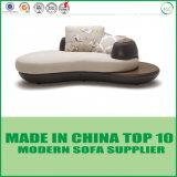 Обивка в европейском стиле итальянской кожи в гостиной раскладной диван-кровать