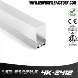 LED-heller Aluminiumstrangpresßling-Profil-Diffuser (Zerstäuber)