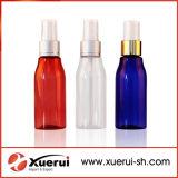 60ml garrafa PET de plástico com o pulverizador para embalagem de cosméticos
