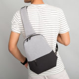 Sacos de ombro de múltiplos propósitos do estilingue de Daypack do saco do mensageiro de homens de saco da caixa de Oxford únicos para Crossbody ocasional masculino Bolsas