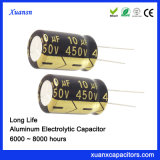 10UF 450V Hochspannungskondensator 8000hours 10*16mm