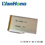 bateria de íon de lítio de 105080pl 5000mAh para o banco da potência
