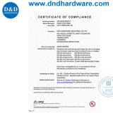 Canto quadrados e redondos Dobradiça com canto (DDSS Certificação UL059)