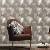 Diseño moderno de diseño 3D de PVC resistente al agua Wallpaper