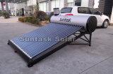 acero inoxidable calentador de agua solar
