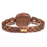 Relojes de madera naturales de Wirst del cuarzo de la alta calidad de la fabricación de la fábrica del reloj del OEM/del ODM